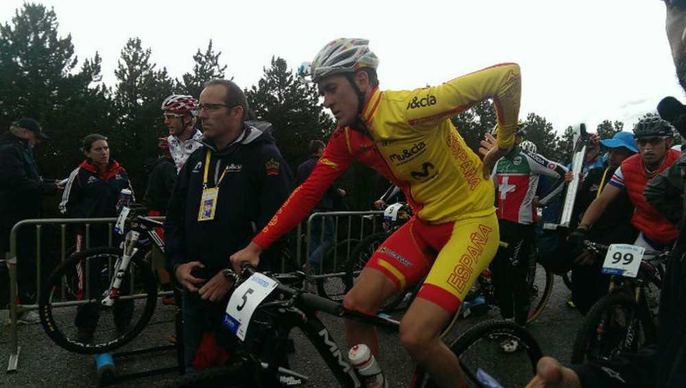 Pablo Rodríguez en el Campeonato del Mundo de Andorra