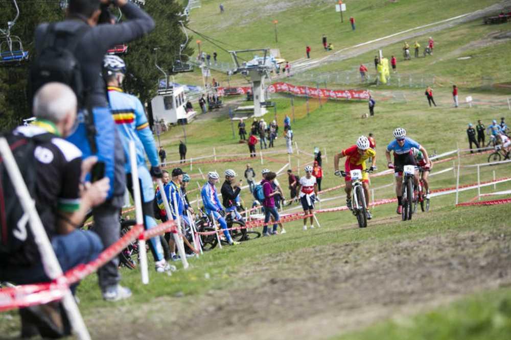 Pablo Rodriguez Team Relay del Campeonato del Mundo de Vallnord