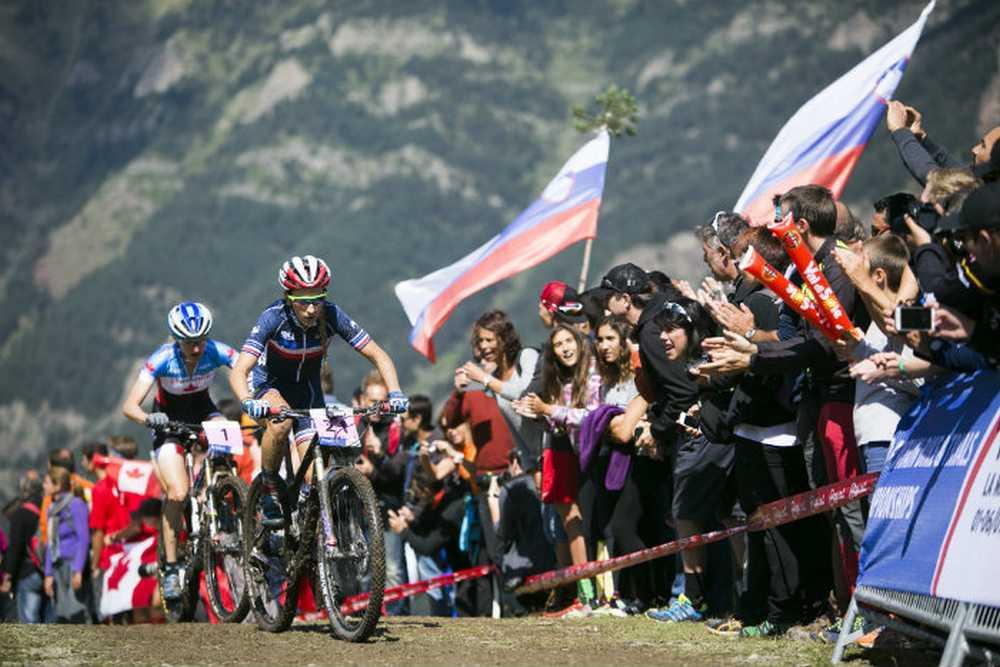 Pauline Ferrand Prevot Campeona del Mundo Élite 2015