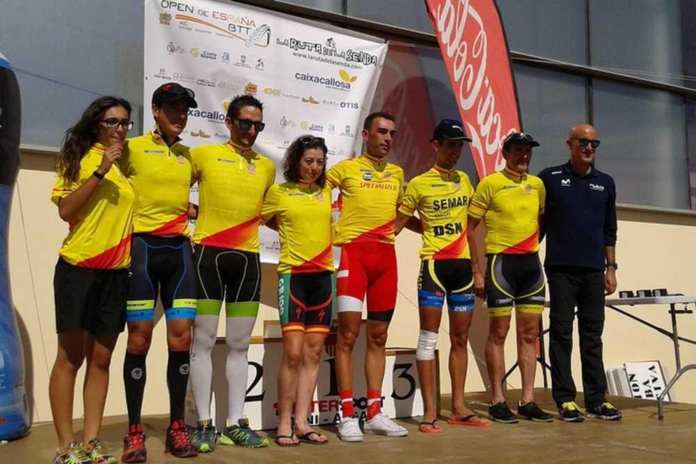 Todos lideres Open de España XCM la II Ruta de la Senda