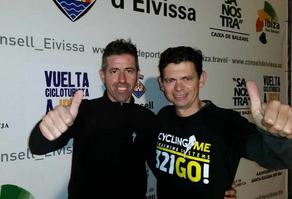Toni Tauler en la Vuelta Cicloturista a Ibiza Campagnolo 2015