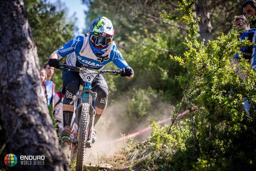 Yoann Barelli on stage one. EWS round 7, Ainsa, Spain. Photo by Matt Wragg.