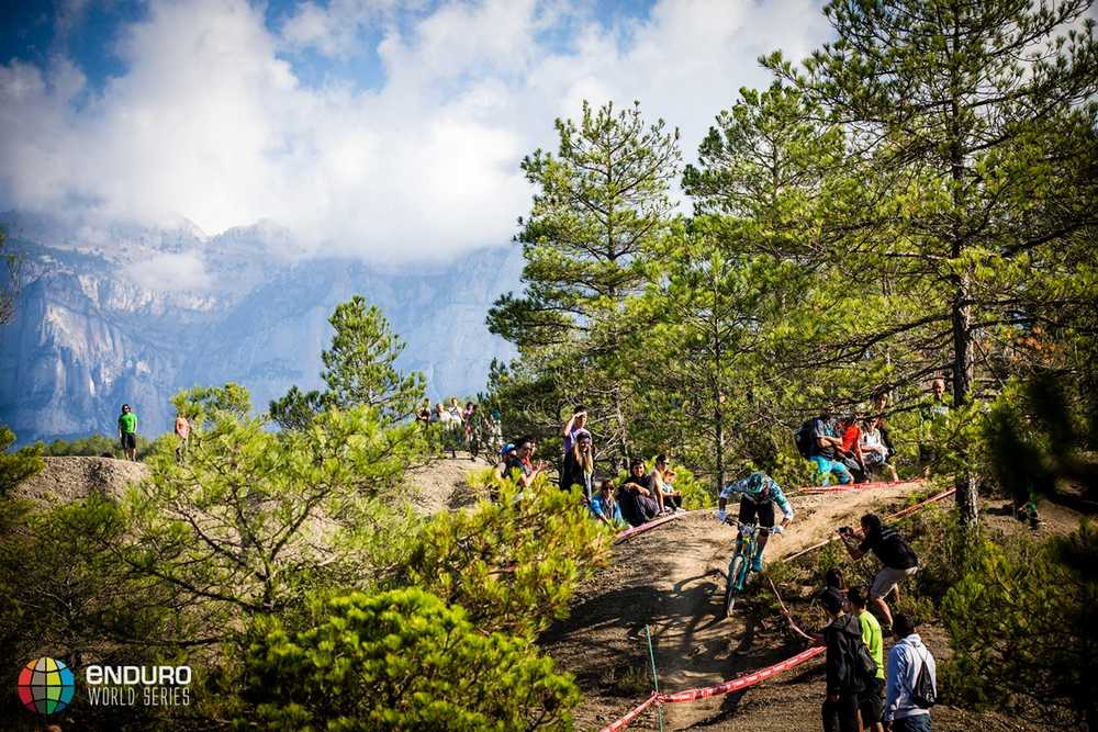 Jared Graves on stage five. EWS round 7, Ainsa, Spain. Photo by Matt Wragg.