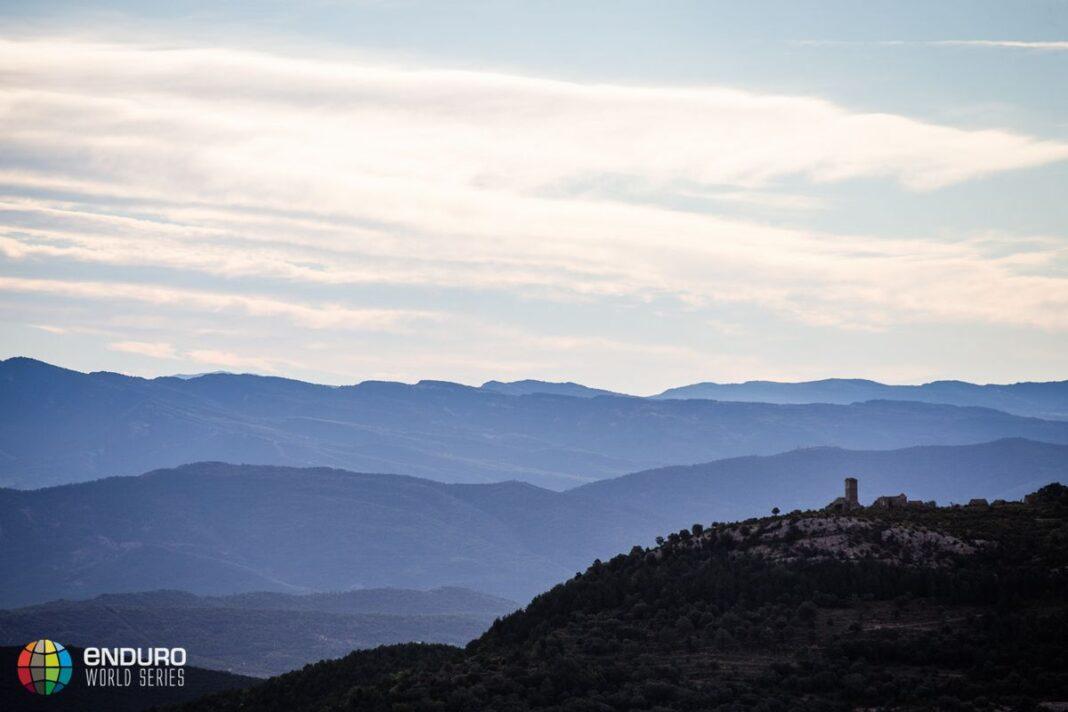 The view this morning. EWS round 7, Ainsa, Spain. Photo by Matt Wragg.