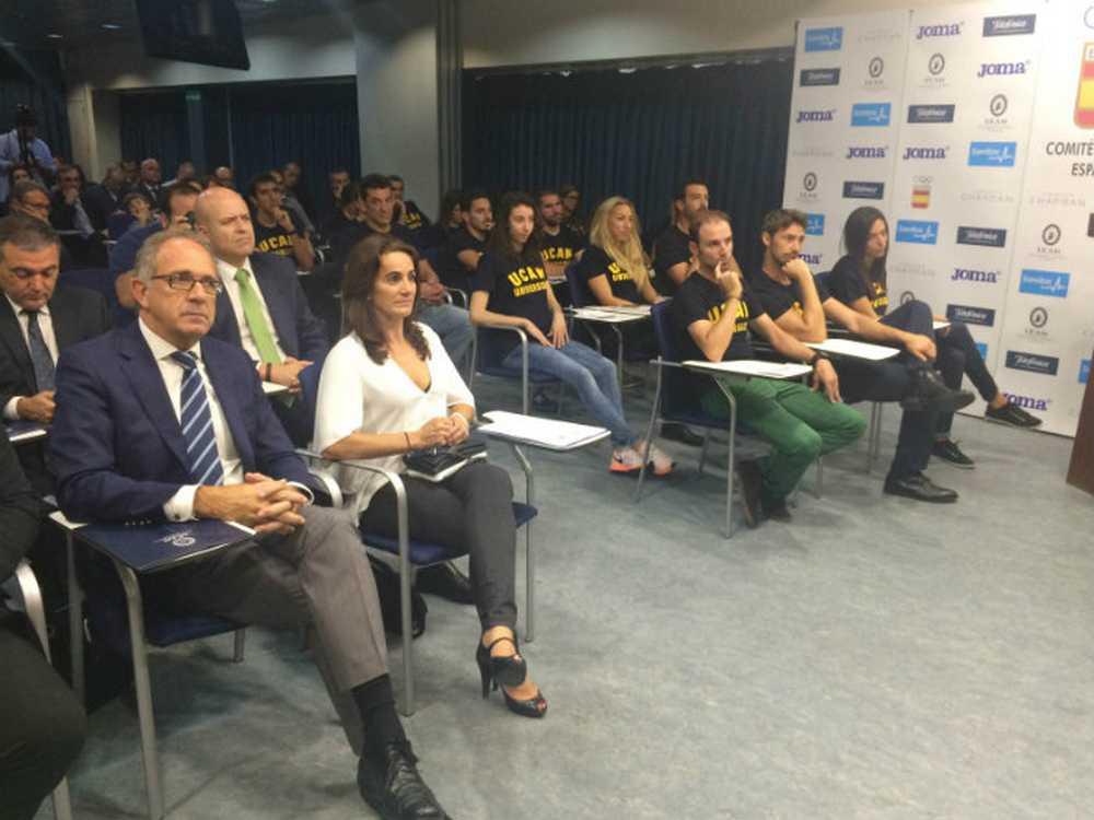Alejandro Valverde, entre los nuevos deportistas del proyecto COE-UCAM charla
