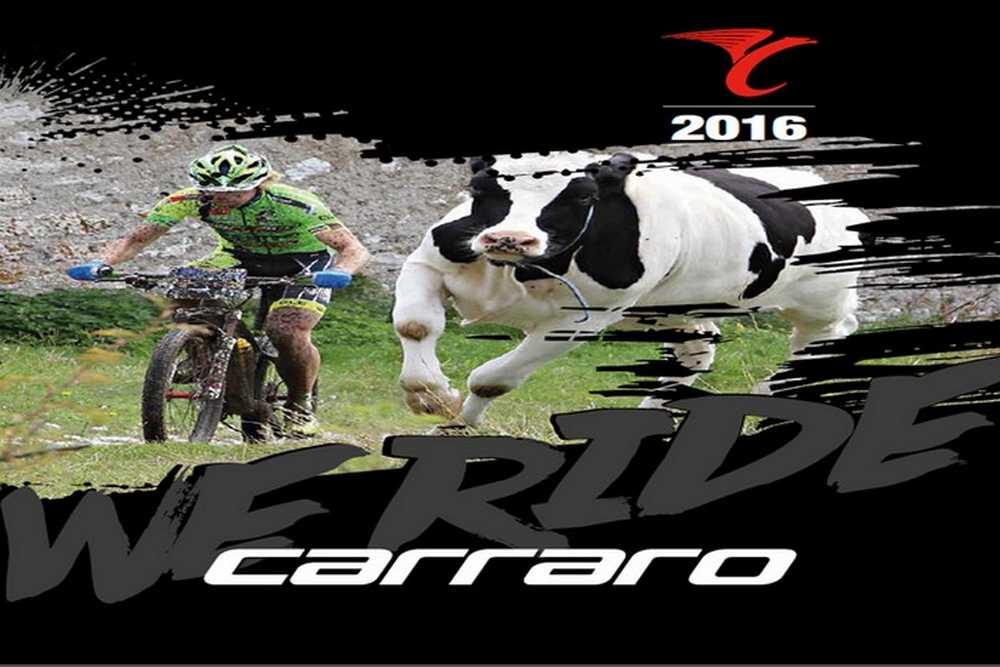 Catálogo bicicletas Carraro 2016