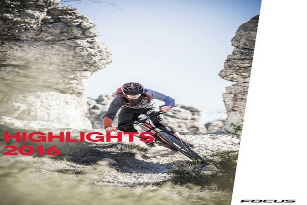Catálogo bicicletas Focus 2016