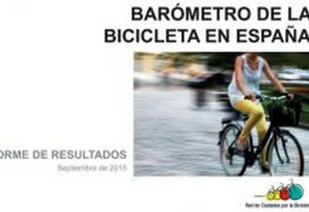 La Red de Ciudades por la Bicicleta publica el Barómetro de la Bicicleta 2015
