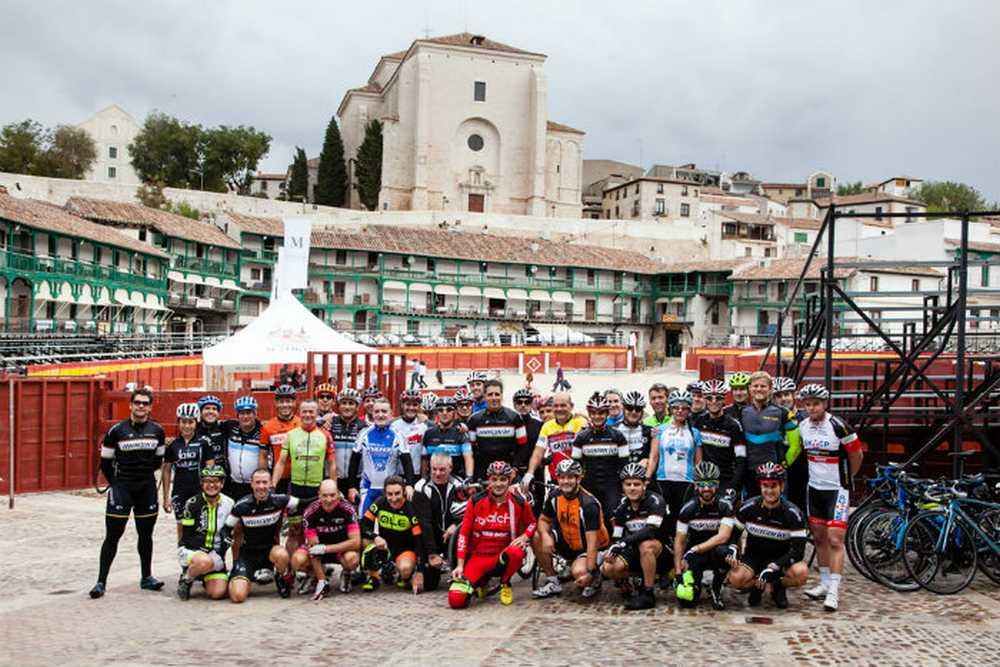 Macario Llorente, 65 aniversario, ruta bici carretera