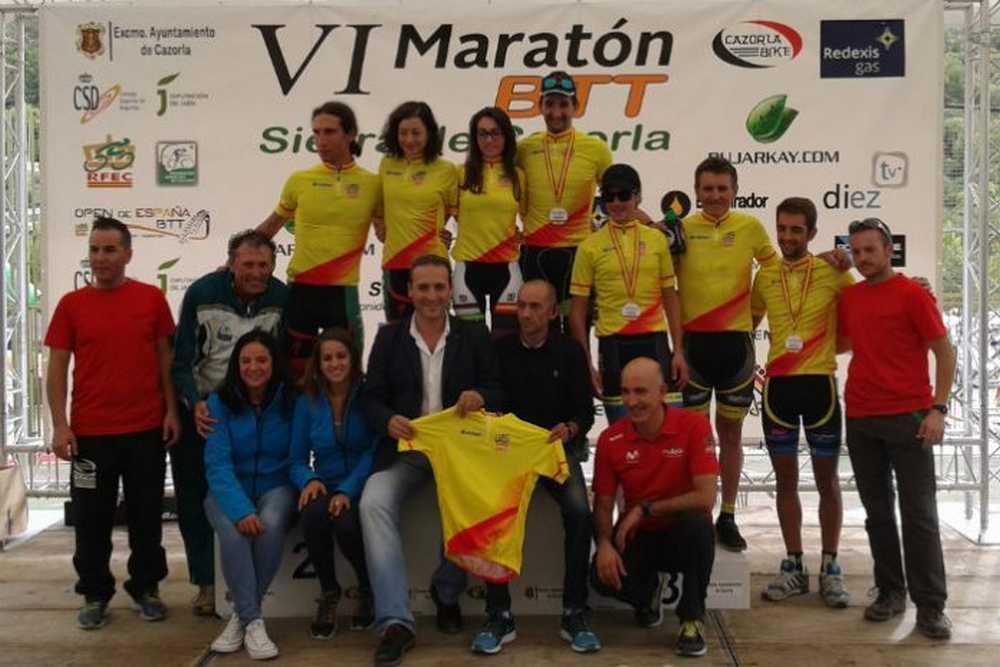 Pedro Romero y Susana Alonso dan el doblete al Extremadura-GR 100 en el Open de España XCM