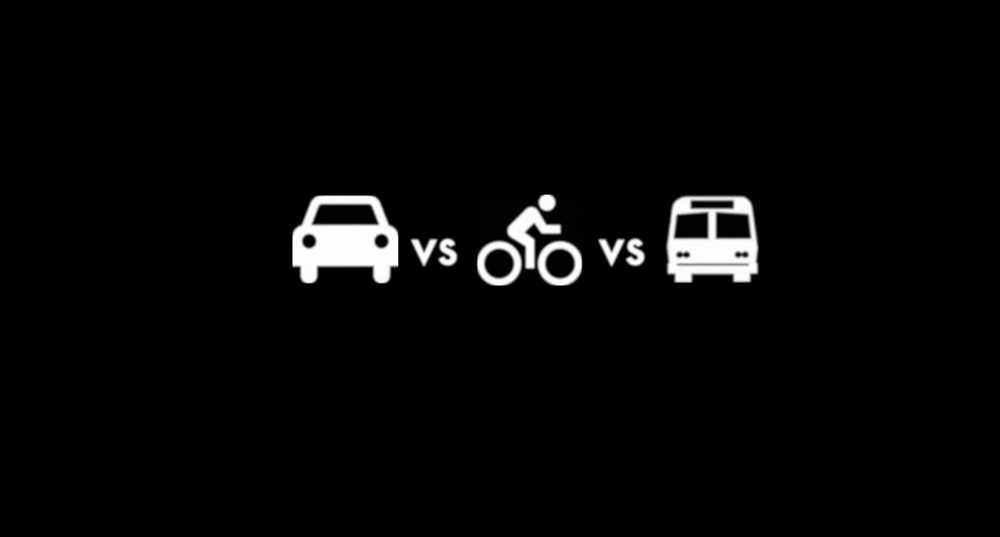 coche-bici-bus