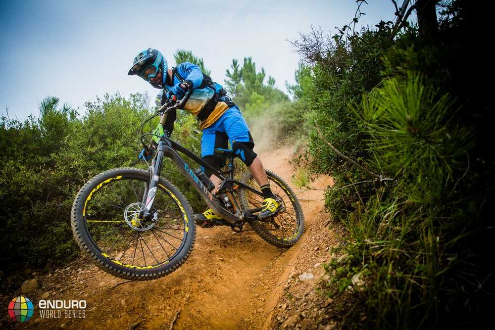 Fabien Barel on stage four. EWS round 8, Finale Ligure, Italy. Photo by Matt Wragg.