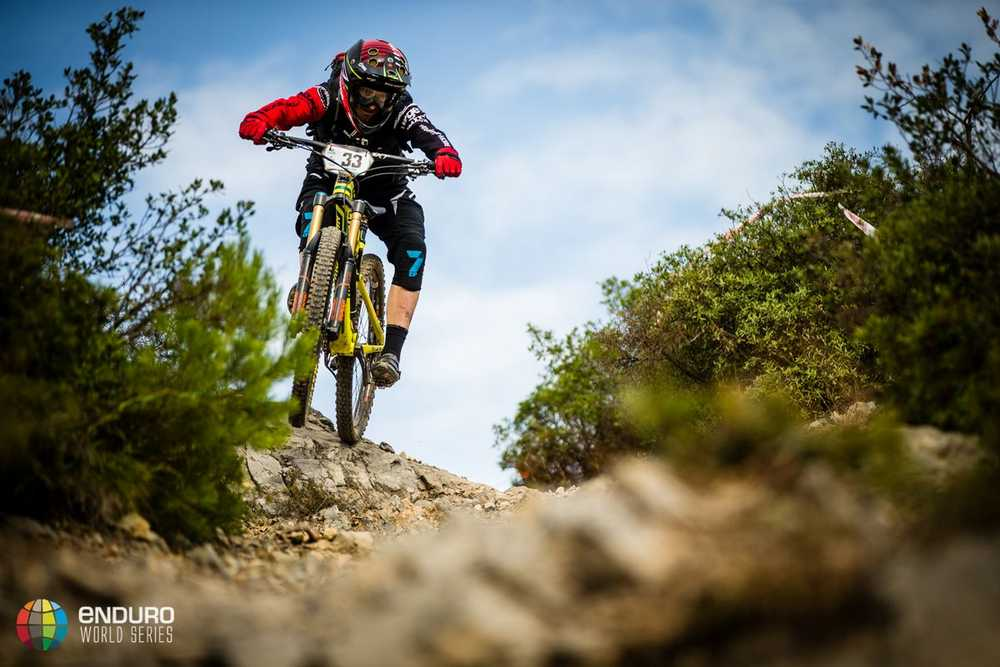 Jesse Melamed on stage four. EWS round 8, Finale Ligure, Italy. Photo by Matt Wragg.