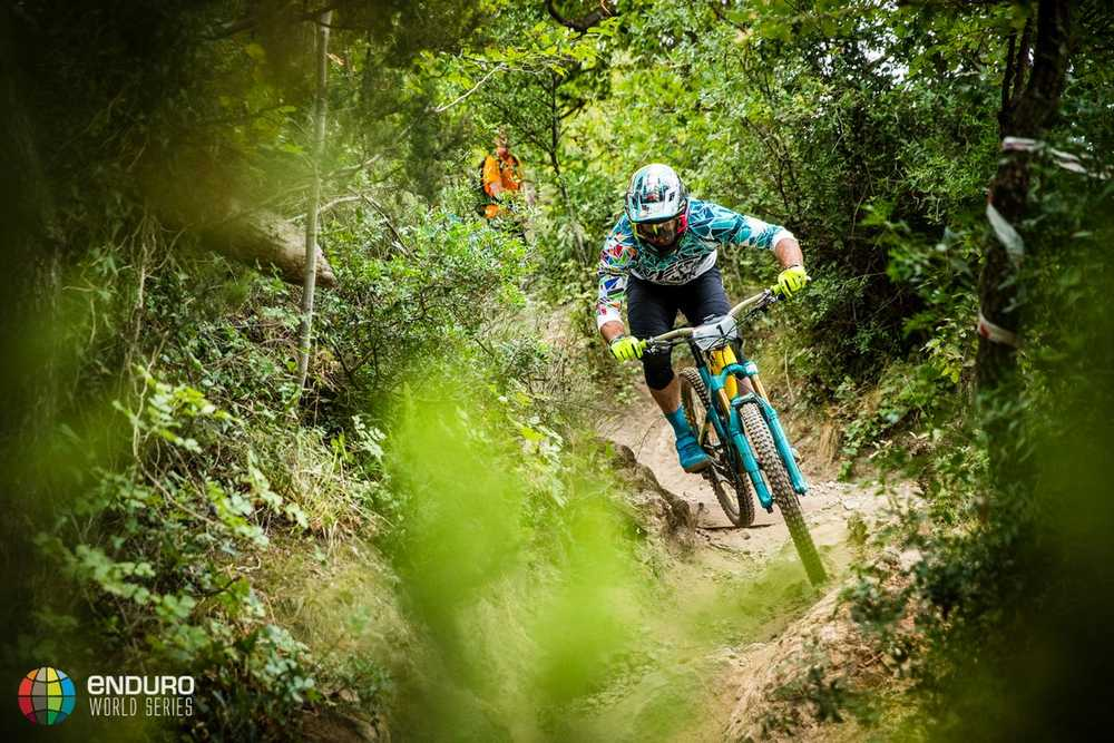 Jared Graves on stage two. EWS round 8, Finale Ligure, Italy. Photo by Matt Wragg.