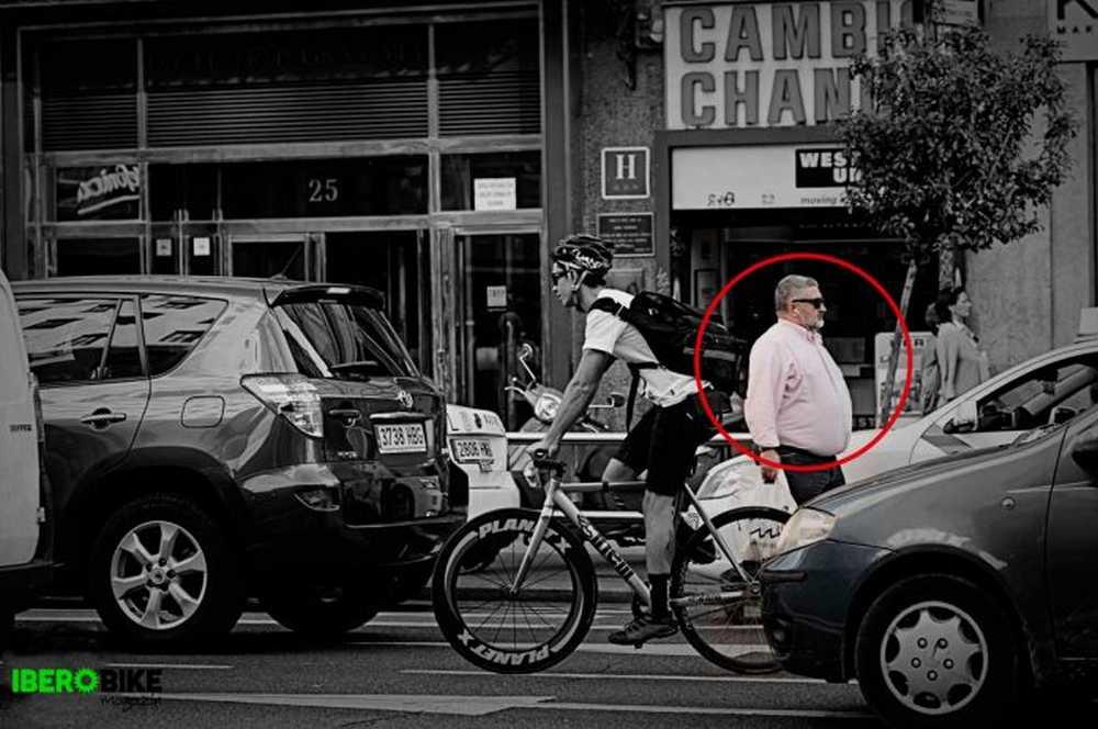 el peligro de los peatones para los ciclistas