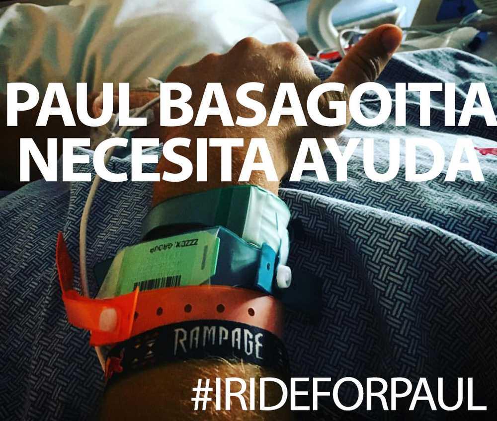 #irideforpaul - Ayuda de la comunidad ciclista a Paul Basagoitia tras su grave caída en el Rampage 2015 - iberobike