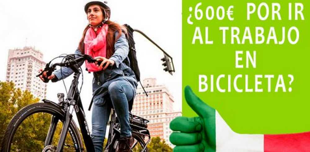 pagar por ir al trabajo en bicicleta