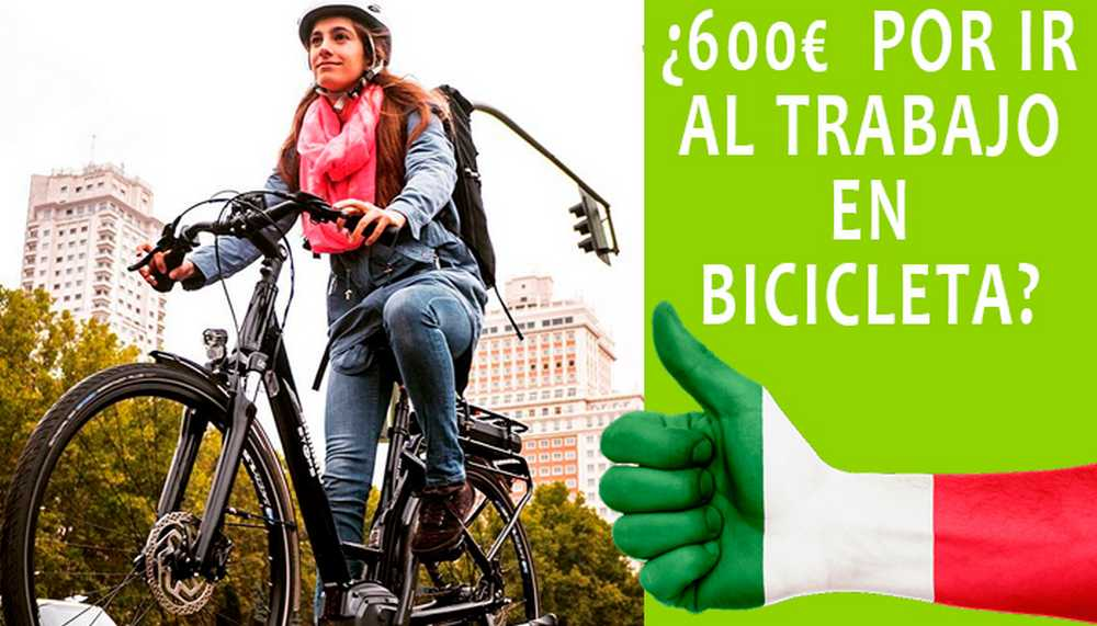 Las multas de los coches pagarán a los que vayan al trabajo en bicicleta - iberobike
