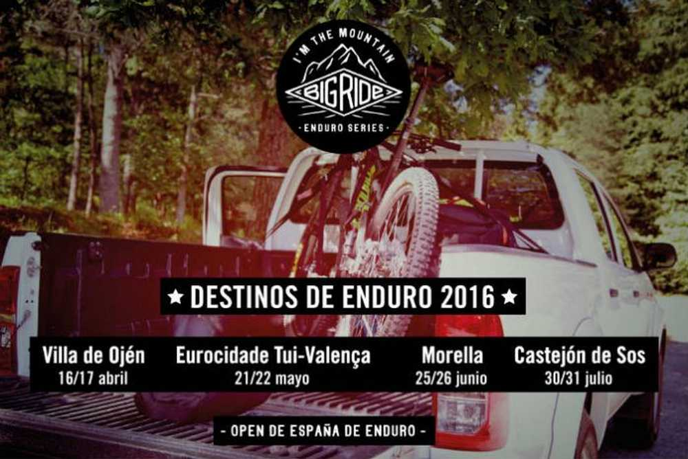 Big Ride Enduro Series presenta su calendario 2016
