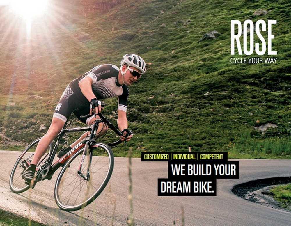 Catálogo bicicletas Rose 2016