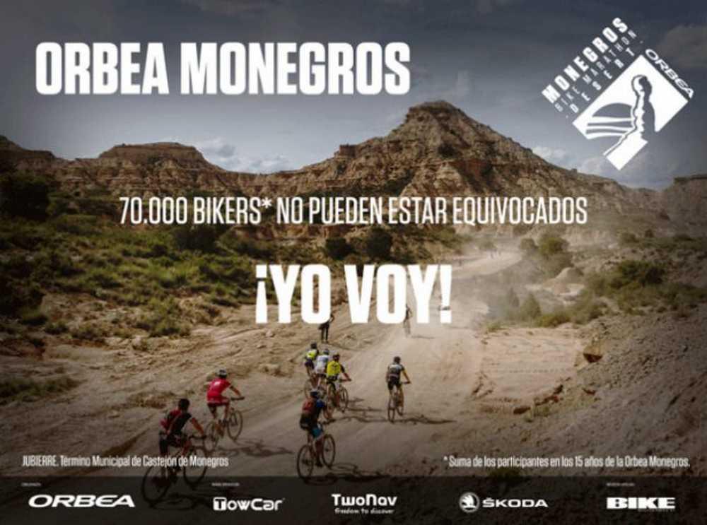 La Orbea Monegros 2016 abre sus inscripciones el 1 de Diciembre