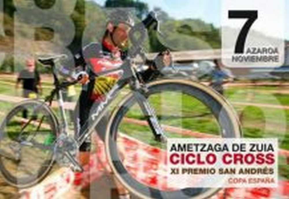 La copa de España de Ciclocross llega a Ametzaga y Elorrio