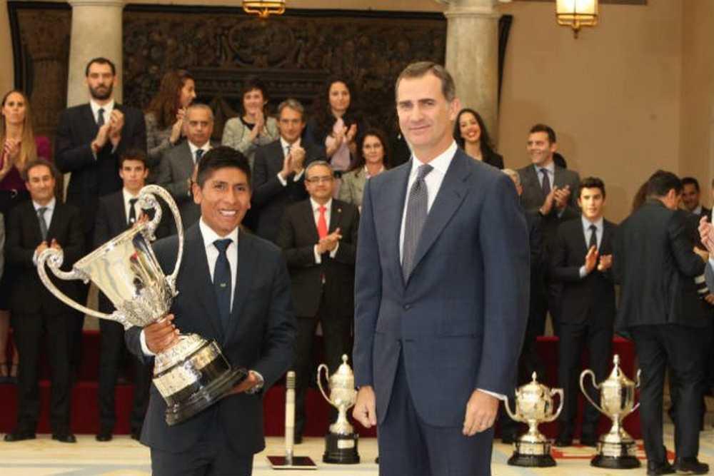 Nairo Quintana, Premio Nacional del Deporte 2014
