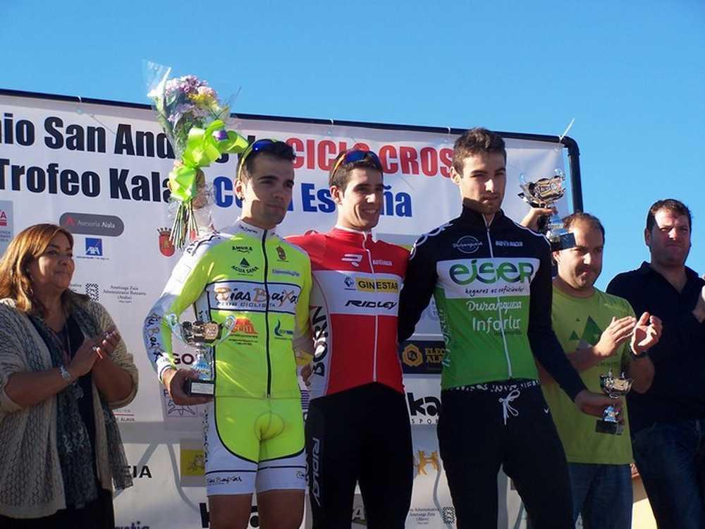 Podio sub23 en el XI Trofeo San Andrés de Amezaga-Zuya