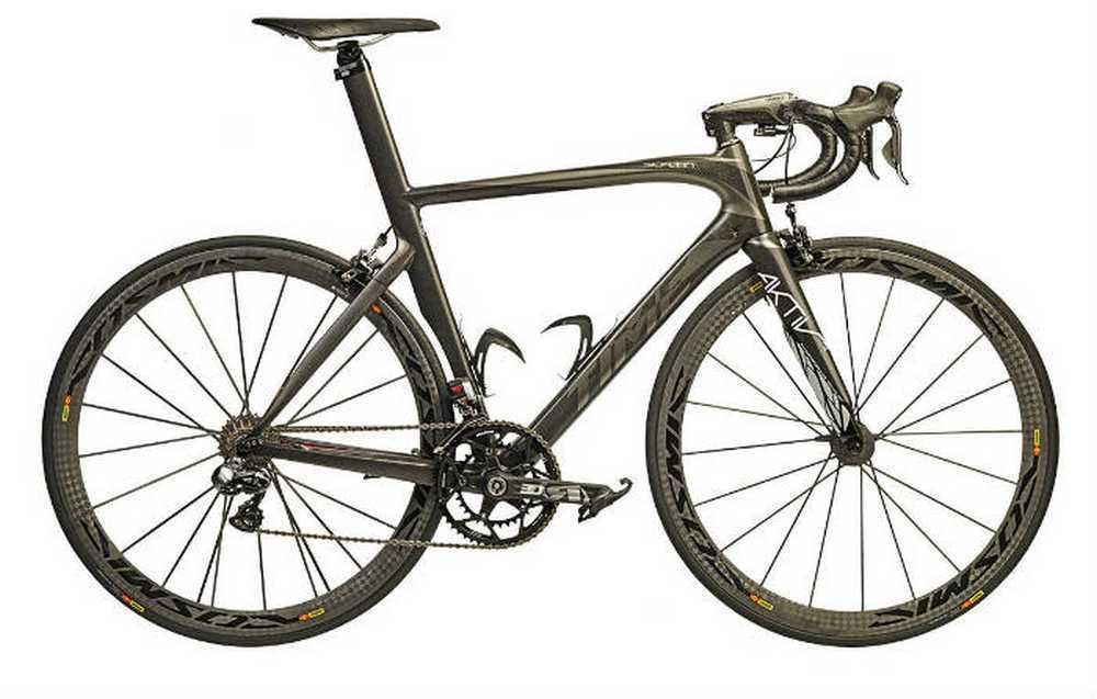 Time Skylon-Graphite-bike