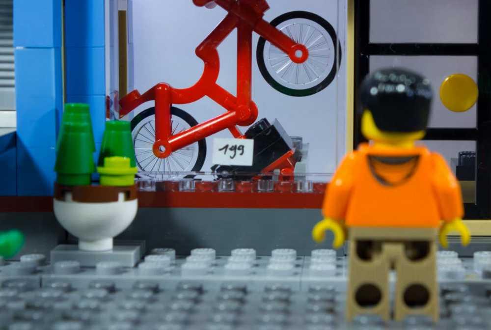escaparate de bicicletas