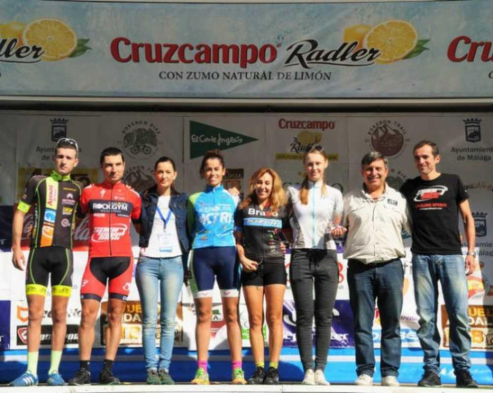podium JOSÉ LUIS CARRASCO Y PAQUI JIMÉNEZ SE LLEVAN EL TÍTULO DE BOKERÓNBIKER 2015