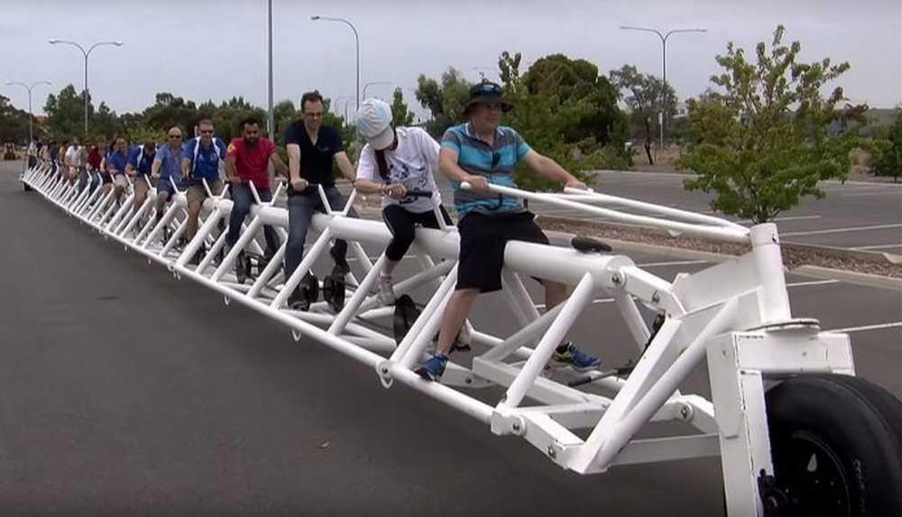 la bicicleta más larga del mundo