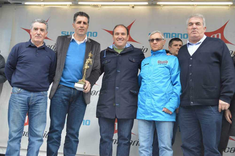 Indurain en el Gran Premio Macario Copa de España de ruta