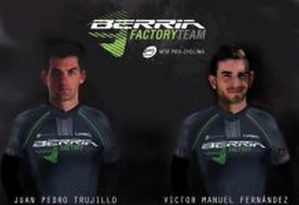 Juan Pedro Trujillo y Víctor Fernández correarán en el Berria Factory Team