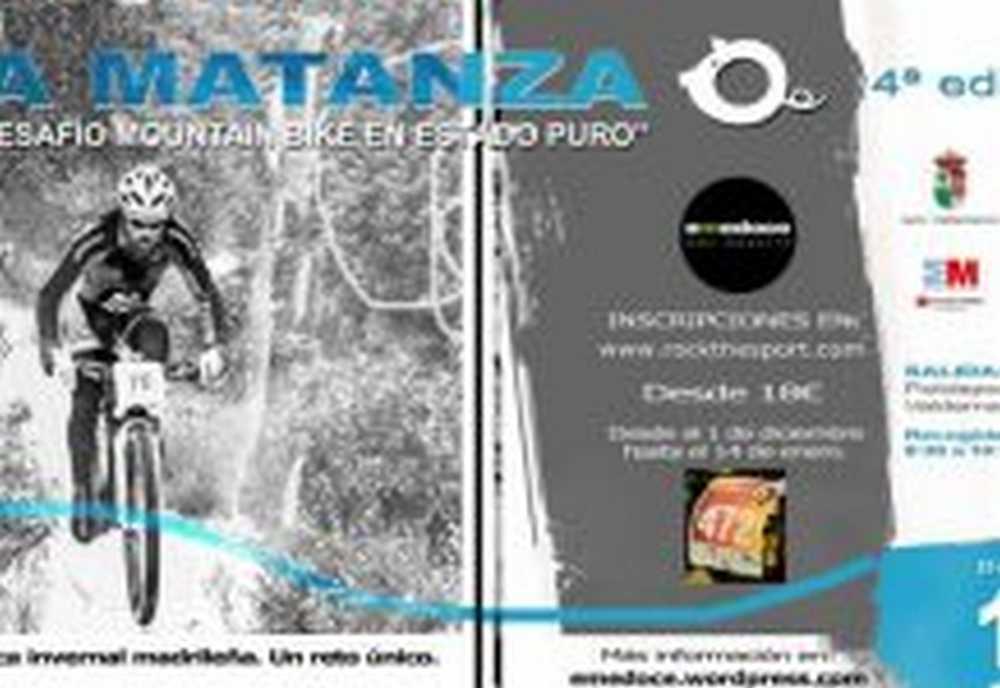 """4ª Edición """"LA MATANZA"""" - Valdemanco (Madrid) Desafío MTB"""