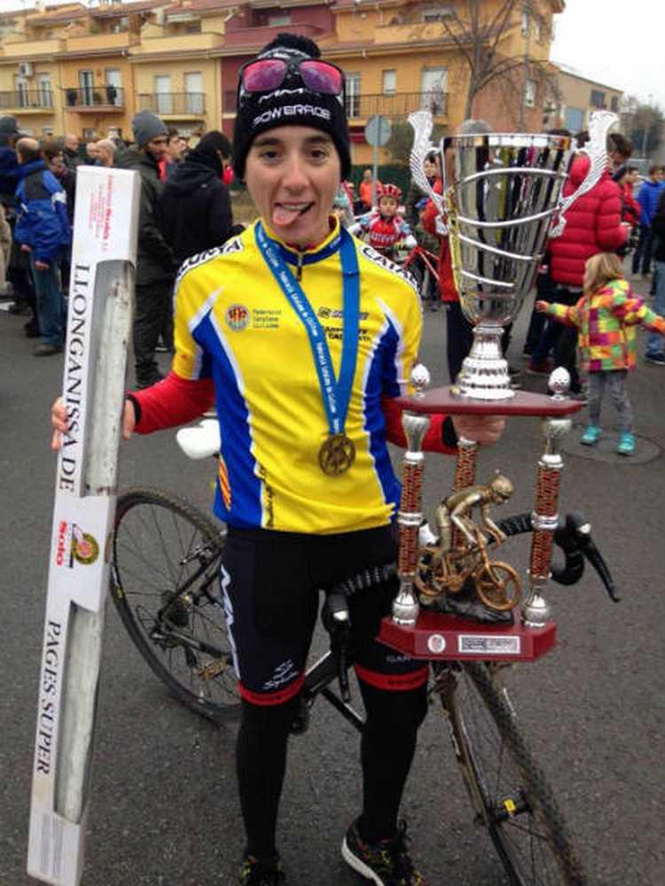 Sandra Santanyes campeona de Cataluña de ciclocross 2015