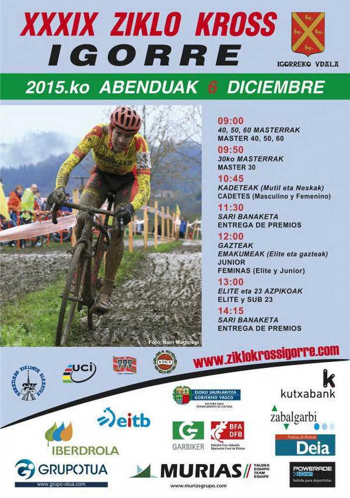 XXXIX Ciclo cross Igorre