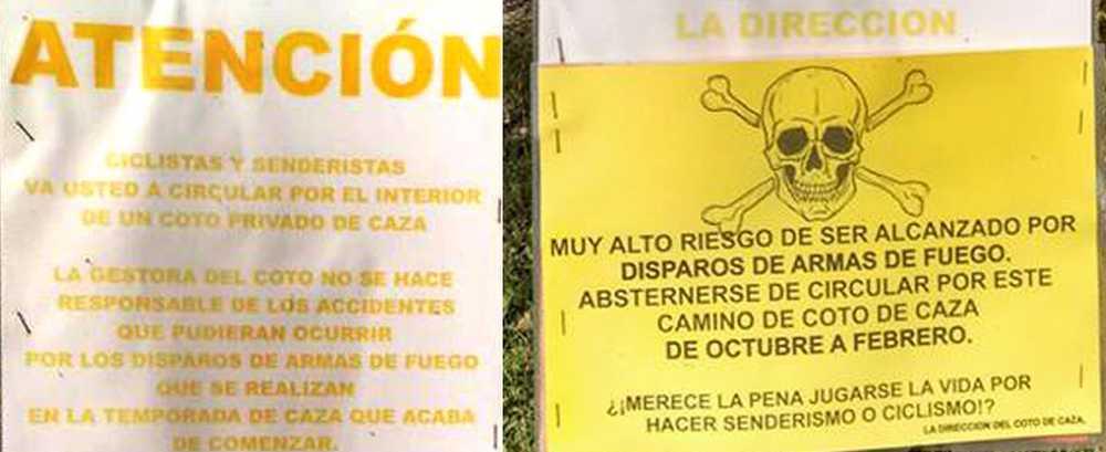 Opinión: El que avisa es un traidor. Cazadores y ciclistas - iberobike