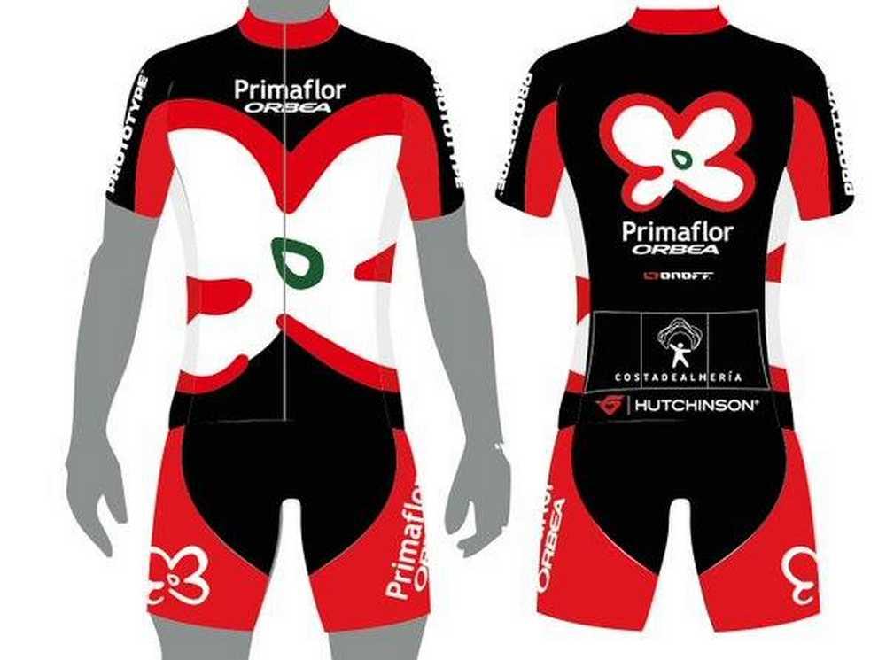 Equipacion Primaflor-Orbea Racing Team 2016