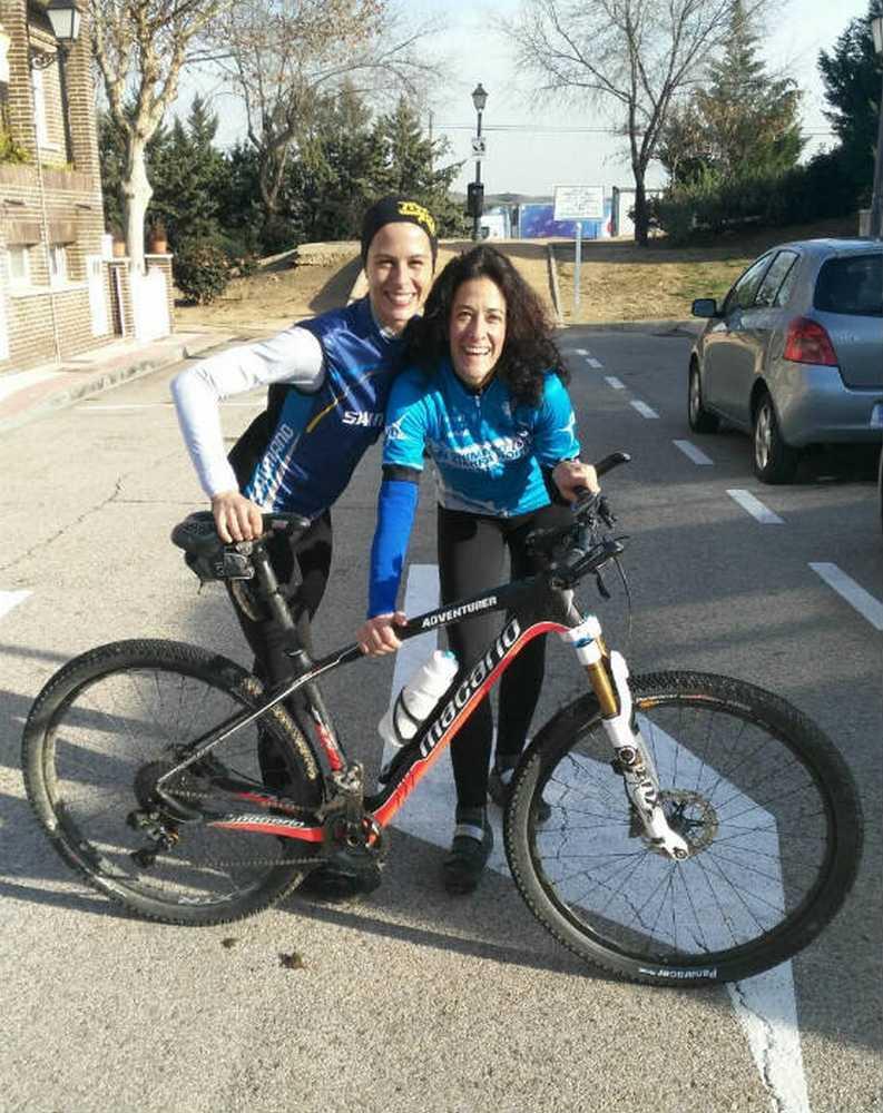 Paloma Lahoz y Susana Calvo PRO - Strongher - Shimano - Andalucía Bike Race 2016
