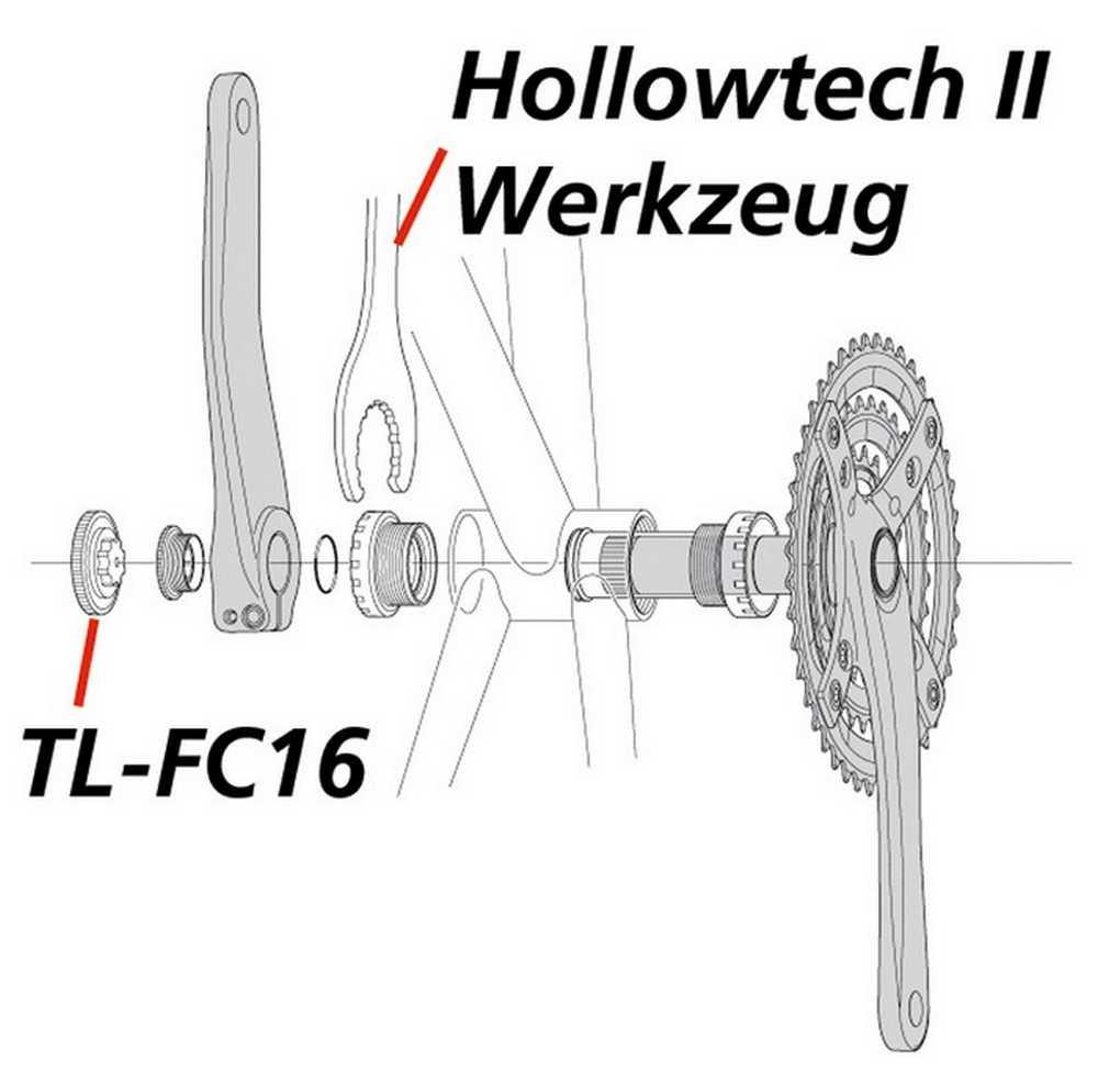Pedalier Hollowtech II