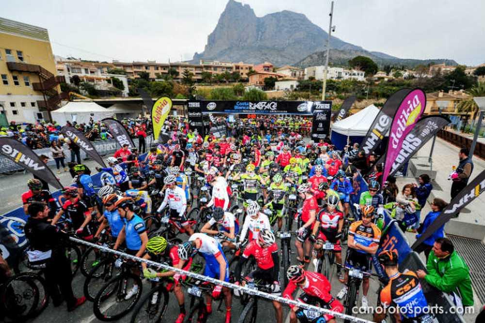 salida 2ª etapa Costa Blanca Bike Race