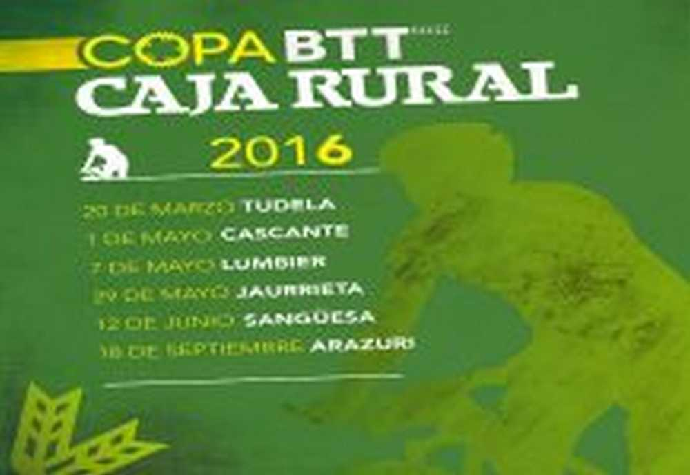 Calendario Copa Caja Rural BTT 2016