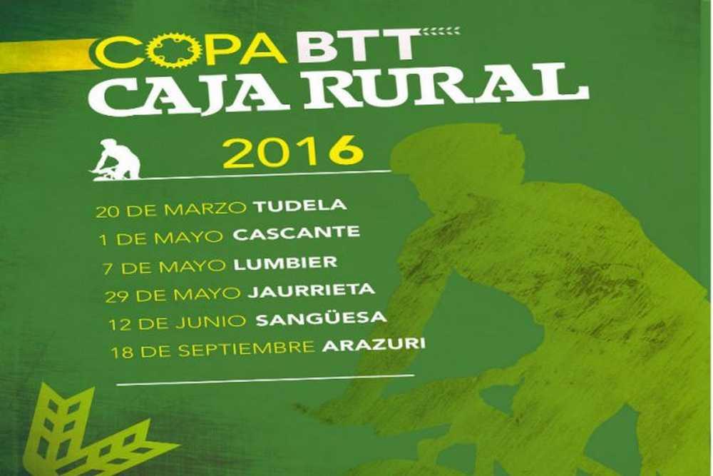 Calendario Copa Caja Rural BTT 2016