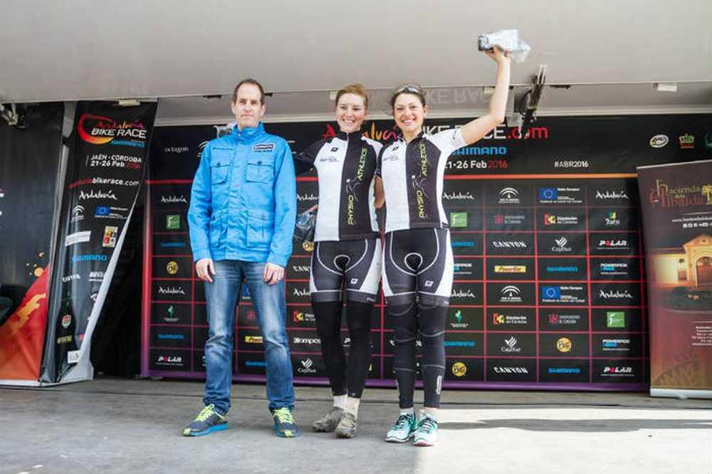 Naima Diesner y Stefanie Dohrn, del Zwilingscraft-Mondaker Pschik Racing Team