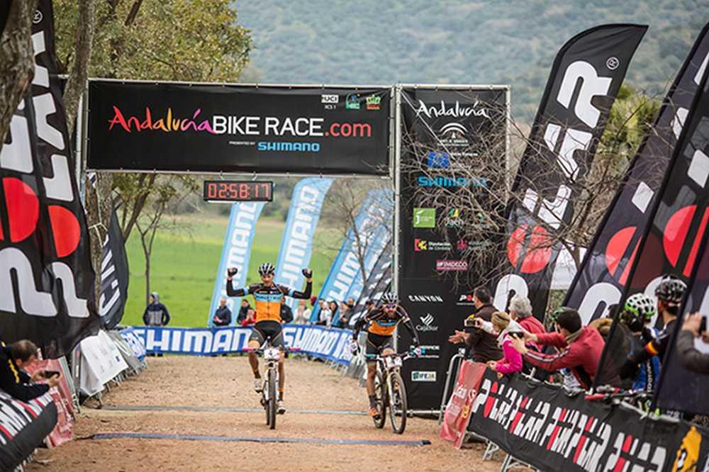 Periklis Ilias y Tiago Ferreira ganadores de Andalucía Bike Race presented by Shimano 2016
