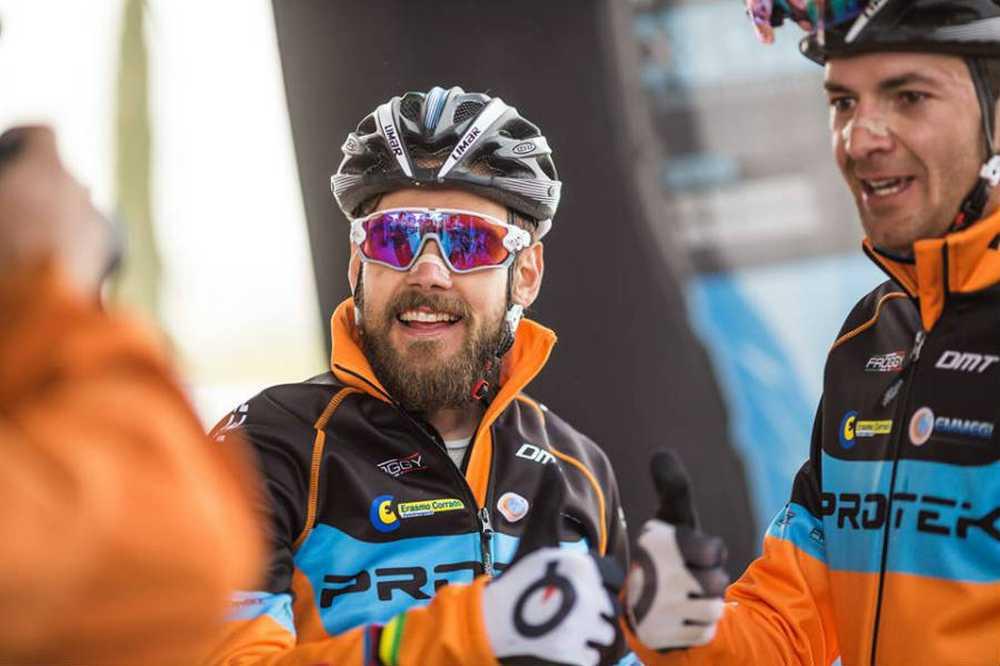 Periklis Ilias y Tiago Ferreira ganadores 2ª etapa andalucia bike race 2016
