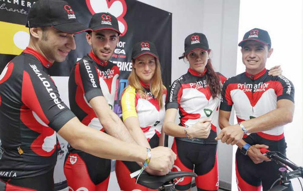 Primaflor-Orbea Ismael Ventura, Javier Jiménez Pascual, Maria Rodriguez Navarrete y Milton Ramos