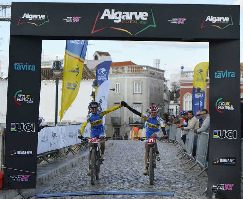 Algarve Bike Challenge 2016 3ª etapa finish UCi women