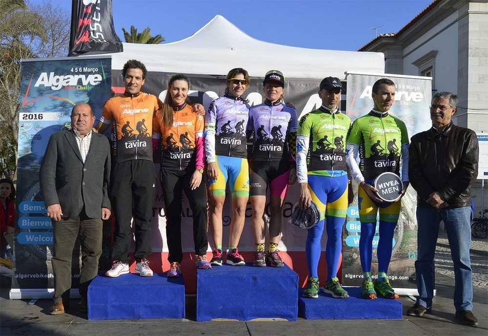 Algarve Bike Challenge leaders open race segunda etapa